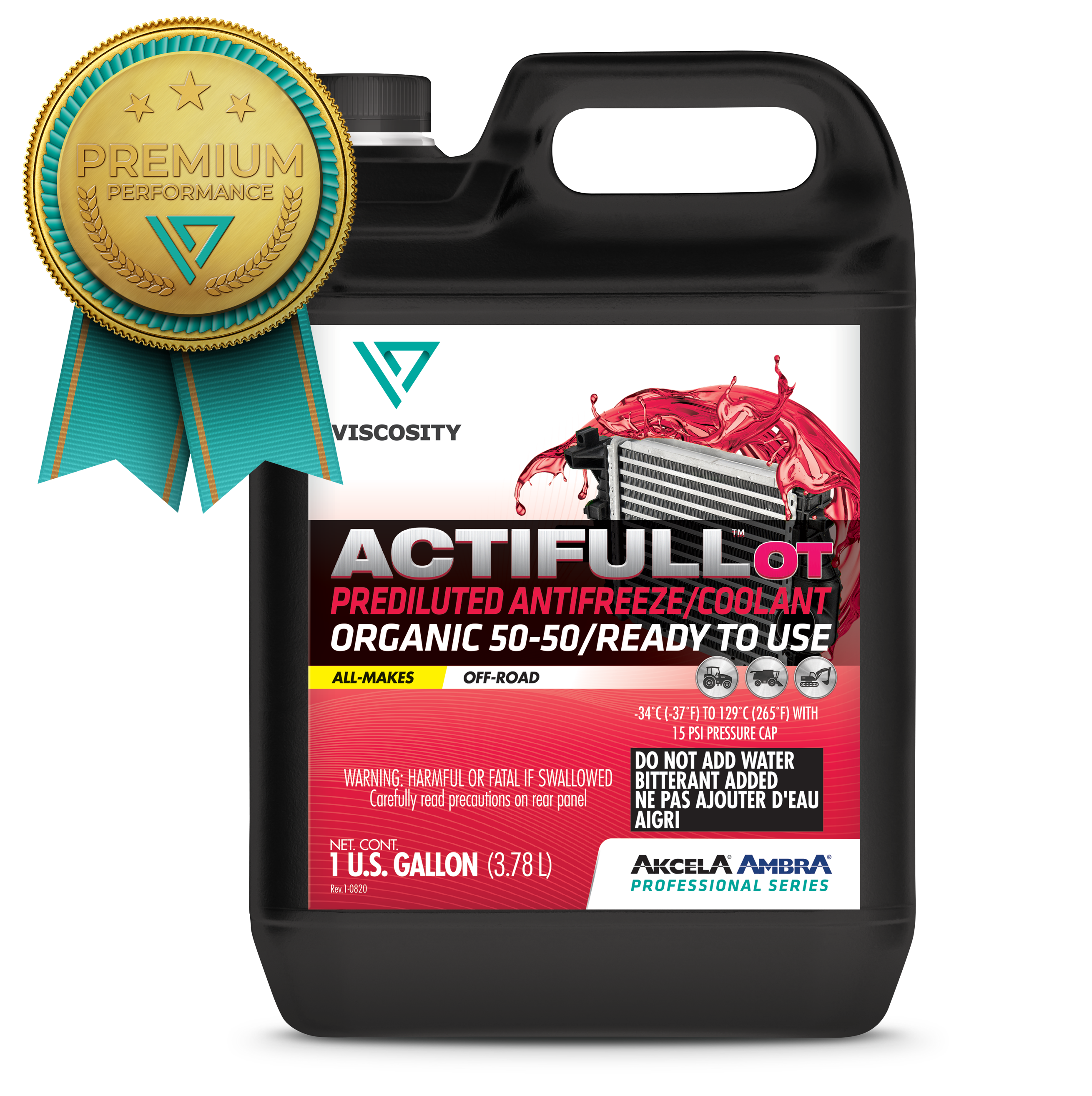 Organic 50 - 50 ready to use coolant